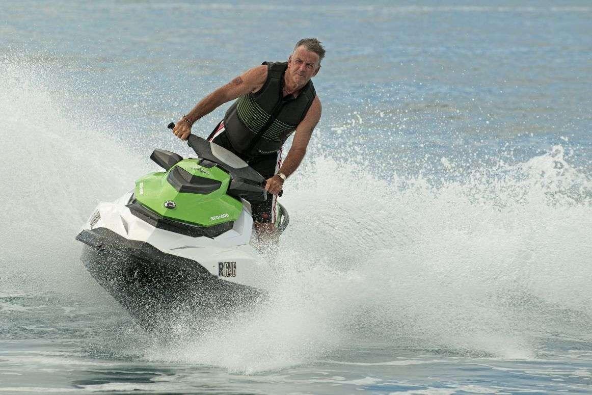 Gallery of Jet Ski Rentals in Bermuda <p>Jet Skis in Action</p>