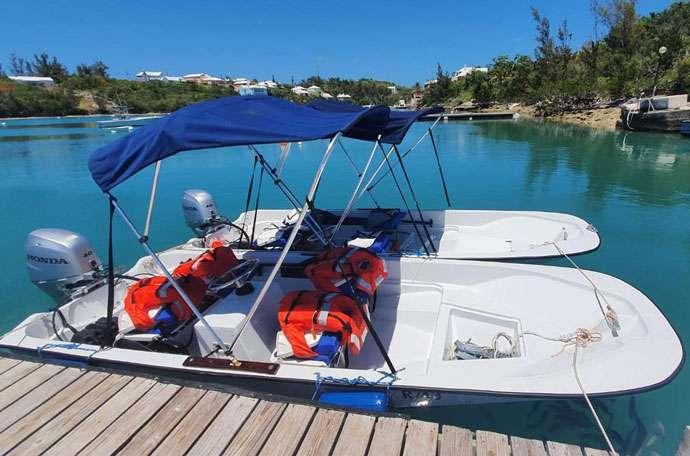 Bermuda Boat Rentals - Small Boston Whaler Rental