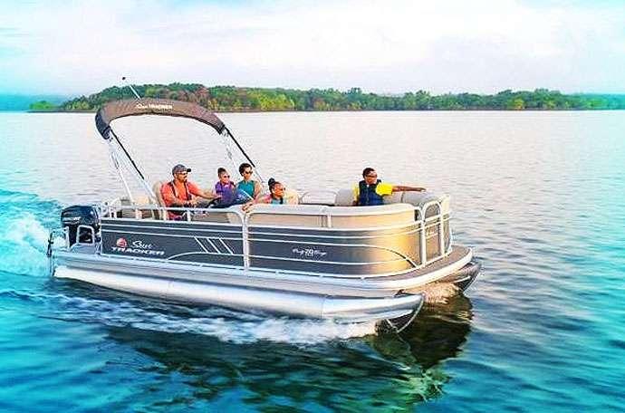 Bermuda Boat Rentals - Pontoon Boat Rental